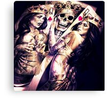 King & Women Canvas Print