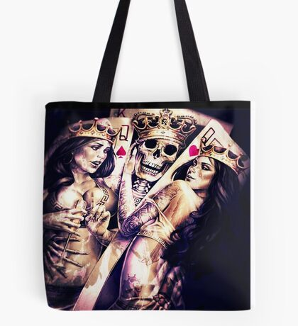 King & Women Tote Bag