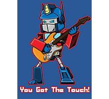 Optimus Playing Guitar Photographic Print