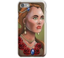 Neo-Traditional Beauty iPhone Case/Skin