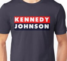 1960 Vote Kennedy Johnson Unisex T-Shirt
