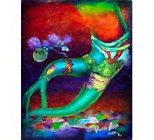 Alien Tattoo Photographic Print