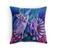 """Night Secrets"" Throw Pillow"