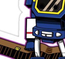 Soundwave With a Guitar Sticker