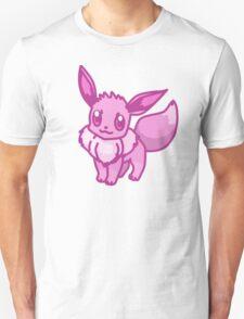 Pink Eevee Unisex T-Shirt