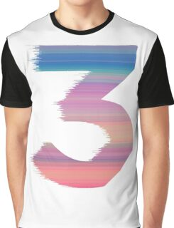 Chance The Rapper - 3 Coloring Book Graphic T-Shirt