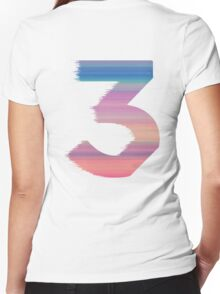 Chance The Rapper - 3 Coloring Book Women's Fitted V-Neck T-Shirt