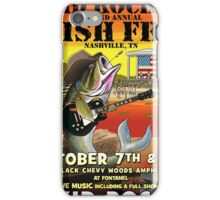 LIVE MUSIC - KID ROCK'S second annual FISH FRY - nashville, TN iPhone Case/Skin