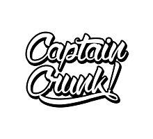 Captain Crunk! Logo Photographic Print