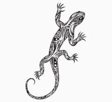 Tribal Lizard One Piece - Short Sleeve