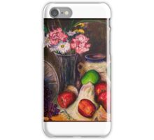 Apples and Grapes (Still Life) iPhone Case/Skin