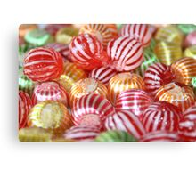 Striped Candy  Canvas Print