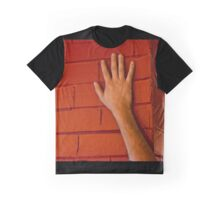 Red Brick Hand Graphic T-Shirt