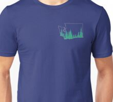 Evergreen State Outline Unisex T-Shirt