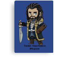 Majestic Thorin Oakenshield Canvas Print
