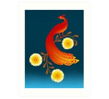 Folklore Firebird Art Print