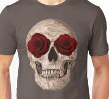 Sweet Skull of Roses  Unisex T-Shirt