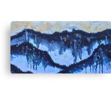Universe Inside a Foggy Forest Canvas Print