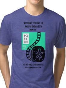 Pacific Ocean Film Festival  Tri-blend T-Shirt