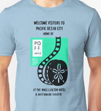 Pacific Ocean Film Festival  Unisex T-Shirt