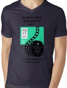 Pacific Ocean Film Festival  Mens V-Neck T-Shirt