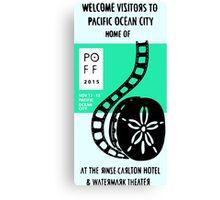 Pacific Ocean Film Festival  Canvas Print