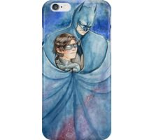 Cold night in Gotham... iPhone Case/Skin