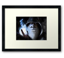 The Dark Wizard Framed Print