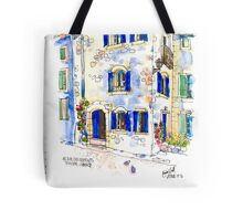 House on The Square, Trausse Minervois Tote Bag