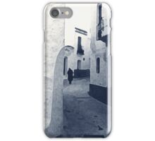 Figure In A Spanish Alley iPhone Case/Skin