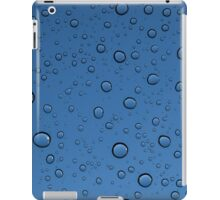 Droplets - blue iPad Case/Skin