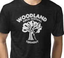 As Worn by Joan Jett T Shirt - Woodland Rock Festival Tri-blend T-Shirt