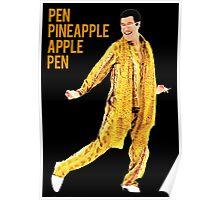 pen pineapple Poster