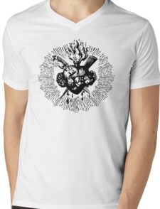 Faith's Heart Mens V-Neck T-Shirt