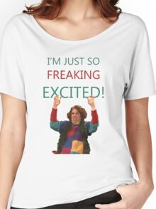 Kristen Wiig: I'm just so freaking excited!  Women's Relaxed Fit T-Shirt