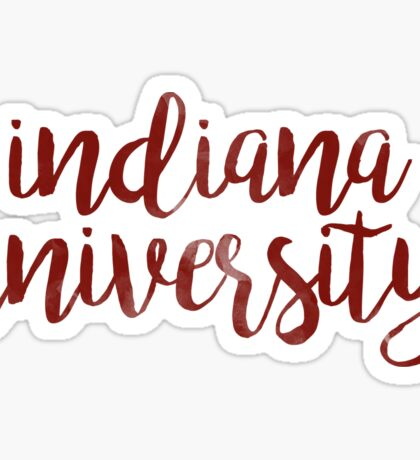 Indiana University Sticker