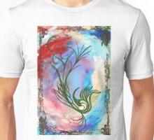 Cock Flourish.jpg Unisex T-Shirt