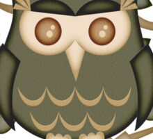 Mr Toot .. The Wise Owl Sticker