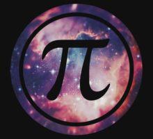 PI - Universum / Space / Galaxy  Nerd & Geek Style Kids Tee