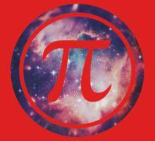 PI - Universum / Space / Galaxy  Nerd & Geek Style One Piece - Short Sleeve