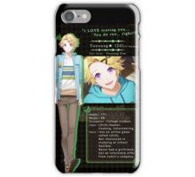 Yoosung Kim's Description iPhone Case/Skin