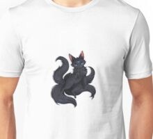 Blue Moon Kitsune Unisex T-Shirt