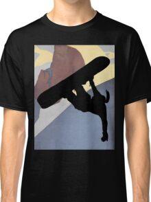 Snowboarding Betty, evening light Classic T-Shirt