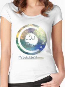 Mrsuicidesheep Women's Fitted Scoop T-Shirt