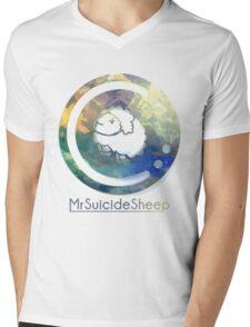 Mrsuicidesheep Mens V-Neck T-Shirt