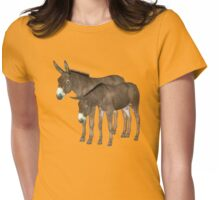 Donkeys Womens Fitted T-Shirt