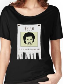 Hello, Is it me you're looking for Women's Relaxed Fit T-Shirt