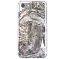 Seated Model with Tattoo  iPhone Case/Skin