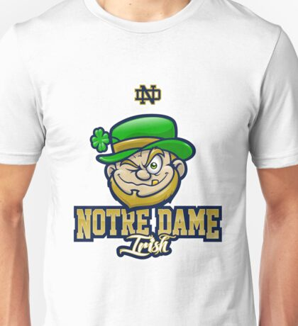 Notre Dame irish ND Unisex T-Shirt