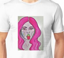 Alien Girl Unisex T-Shirt